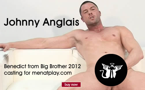 Big Brother's Benedict naked and wanking!